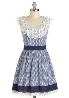 Blueberry Muffin Dress, #ModCloth