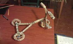 Creazione del mio primo triciclo ,prima fase ultimata.