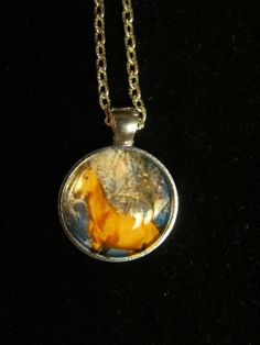 Beautiful Buckskin Horse Pendant Necklace by EverythingsDuckyBout, $9.99