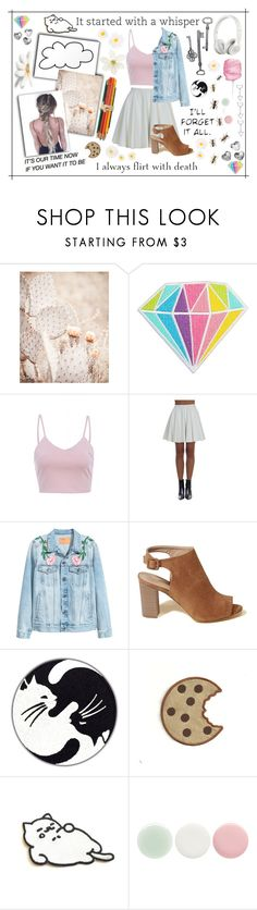 """""""24"""" by jujuba1270 ❤ liked on Polyvore featuring AX Paris, Giamba, Hollister Co., Lara, Beats by Dr. Dre, Tubbs and Nails Inc."""