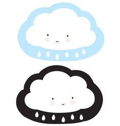 Mit diesem süßen Wendekissen von A Little Lovely Company fliegt ihr kleiner Liebling wie auf Wolken gebettet direkt ins Traumland. Je nach Laune schwebt die lächelnde Wolke mit hellblauem oder mit schwarzem Hintergrund mit.