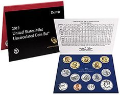 Coin Set: 2012 United States Mint Uncirculated 28-Coin Set