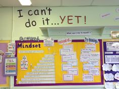 My first attempt at a Growth Mindset display :)