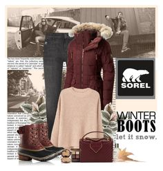 """""""Tame Winter with SOREL: Contest Entry"""" by polybaby ❤ liked on Polyvore featuring SOREL, J Brand, MANGO, Chanel, Le Labo, Bobbi Brown Cosmetics, Wander Beauty and sorelstyle"""