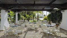 Terraza del Restaurante Alborán #h10esteponapalace #estepona palace #estepona #h10hotels #h10 #hotel10