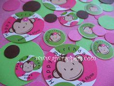 Mod Monkey Confetti (girl)