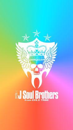 三代目 J Soul Brothers[iPhone用]4   スマホ壁紙.net