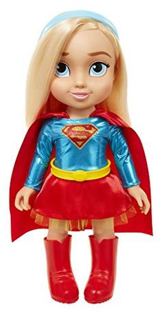 Jakks DC Toddler Dolls - Supergirl Doll Includes 5 PC for sale online Baby Dolls For Kids, Toddler Dolls, Toddler Girl, American Girl Doll Movies, Candy Theme Birthday Party, 10 Birthday, Dc Superhero Girls Dolls, Minnie Mouse Toys, Supergirl Dc