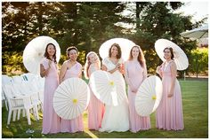 www.weddingrowcalifornia.com | Pink Bridesmaid Dresses