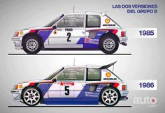 RA PEUGEOT GROUP B - 1° & 2° VERSION
