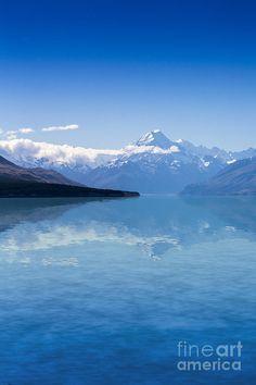✯ Mount Cook With Lake Pukaki - New Zealand