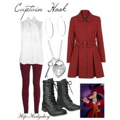 Captain Hook disney outfits...different boots, but LOVE that coat!