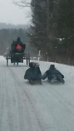 Reminds me of when I lived in Canada...Sled Boarding - oooo what fun..