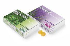 Таблетки для рассасывания  Для аптечной сети  «ВИТА ЛАЙН» г. Самара мы постоянно разрабатываем упаковки. Новые 2 SKU — таблетки для рассасывания «Шалфей» и «Эвкалипт форте».