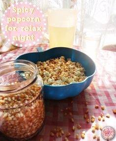 Spicy popcorn for relax night