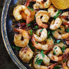Spanish Garlic Shrimp, (Gambas al Ajillo), is a popular Spanish tapas because it is insanely delicious and an easy recipe to make too!