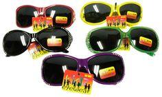 Kidz Eyewear Children's Rhinestone Sunglasses - 48 Units