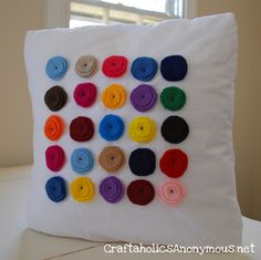 Cute Dots...to go with all the other pillows i need to make
