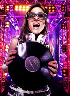 #DJ #vinyl