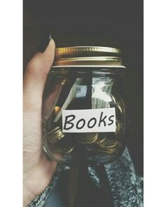 Maybe not coins but I have had a special purse all my life where I used to save money for books. Money mostly I get as gifts. I think thats how I got most of my books I Love Books, Good Books, Books To Read, My Books, Reading Books, Book Of Life, The Book, Photo Pour Instagram, World Of Books