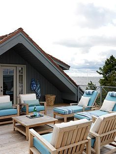 During good weather- your outdoor spaces should be treated as part of the home, too