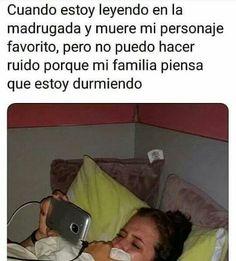 #humor #chistes #chiste #risas #memes #risasinmas Wattpad Quotes, Wattpad Books, Dankest Memes, Funny Memes, Real Memes, Dark Memes, Spanish Memes, Love Book, Kpop
