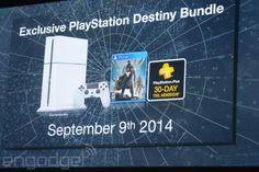 PS4 de color blanca con el pack Destiny para el 9 de septiembre