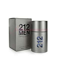 CAROLINA HERRERA 212 MEN EAU DE TOILETTE 50ML VAPO.