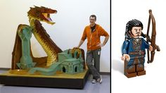 Comic-Con: Lego Offering 'Hobbit' Minifigure, Bringing Giant Smaug (Exclusive)