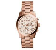 a0f5b8384a94 Buy Michael Kors MK5128 Ladies Runway Chronograph Watch from our Women s  Watch range at The Watch