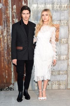 Best dressed 16.09.2015: Will Peltz and Nicola Peltz, both in Givenchy, at the Givenchy show in New York