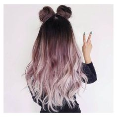 Ombre Hair Color Ideas that you'll absolutely love - hair - HAIR Dope Hairstyles, Pretty Hairstyles, Unique Hairstyles, Layered Hairstyles, Hairstyle Ideas, Instagram Hairstyles, Bun Hairstyle, Makeup Hairstyle, Ombre Hair Hairstyles
