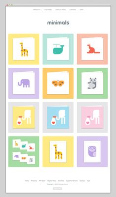The Web Aesthetic / Minimals World — Designspiration...could be great inspiration for scrapbooking!