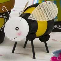 Clay Pot Bumble Bees