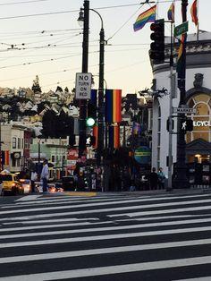 """A warm Saturday night in """"The Castro"""" #Castro #gay #SanFrancisco #California #fun #memories"""