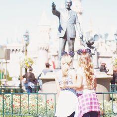 Best friends at Disney