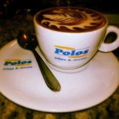 Foto tirada na Polos Pães e Doces - latte art