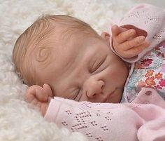 "Wonderful Reborn Baby Doll KIT ""Beyonce"" by Sebilla Bos - Nicky Creation"