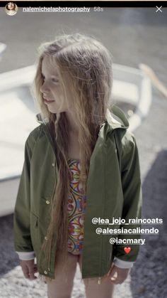 Lea & Jojo Green Raincoat