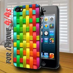colorful plaid - design case for iphone 4,4s | shayutiaccessories - Accessories on ArtFire