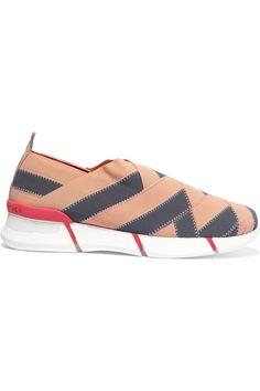 beb6c6a981740 Stella McCartney - Woven grosgrain sneakers