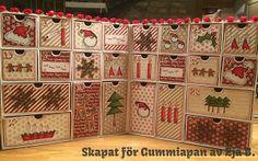 Gummiapan Advent Calendar, Holiday Decor, Home Decor, Decoration Home, Room Decor, Interior Design, Home Interiors, Interior Decorating
