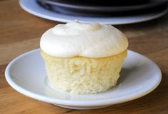 Vanilla Buttermilk Cupcakes 1 1/3 cups all purpose flour ½ teaspoon baking soda ½ teaspoon baking powder ¼ teaspoon salt 1 cup sugar ¼ cup b...