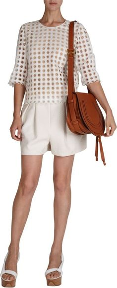 Aw2015 chloe\u0026#39; marcie medium round crossbody anemone pink bag ...