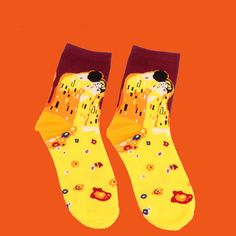 Aliexpress.com : Buy 1 Pair Fashion Starry Night Socks Novelty Vintage Retro Art Ankle Socks Unisex Funny Cotton Socks Painting Multiple Colors 2018 from Reliable socks novelty suppliers on L-D's show Store