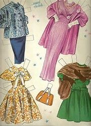 Image result for pat crowley vintage paper dolls