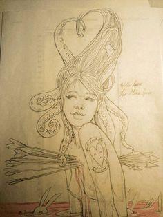 Pre-Illustration Sketches