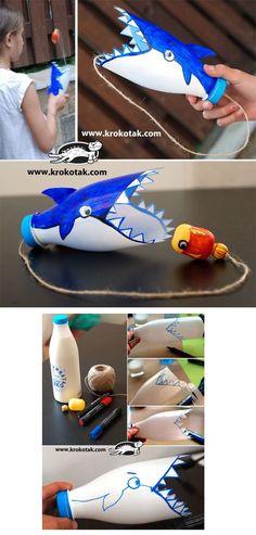 Laboratori per bambini: squalo acchiappapalla