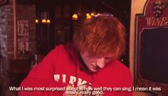 my two favorite things in the world 1) Ed Sheeran and 2) One Direction
