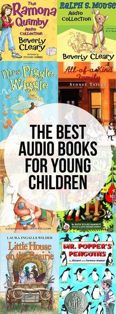 Best Audio Book Novels for Young Children - 3-5 years (and older!)